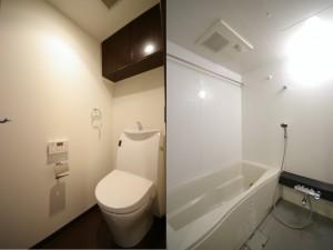 バス・トイレです。追い炊き・浴室乾燥機・ウォシュレット
